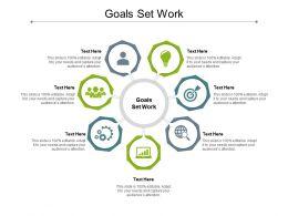 Goals Set Work Ppt Powerpoint Presentation Professional Slides Cpb