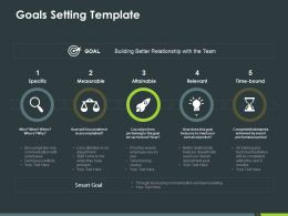 Goals Setting Ppt Powerpoint Presentation Styles Templates