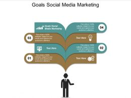 Goals Social Media Marketing Ppt Powerpoint Presentation File Show Cpb