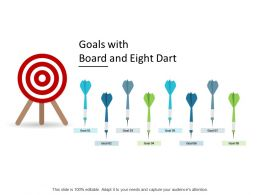 Goals With Board And Eight Dart