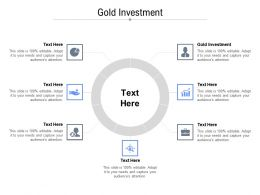 Gold Investment Ppt Powerpoint Presentation Portfolio Templates