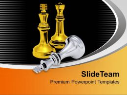 golden_and_silver_chess_pieces_business_powerpoint_templates_ppt_themes_and_graphics_0113_Slide01