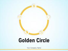 Golden Circle Currency Symbol Business Target Embedded