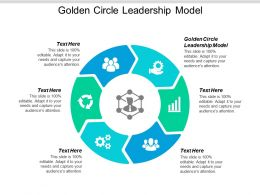 Golden Circle Leadership Model Ppt Powerpoint Presentation Infographic Template Graphics Design Cpb