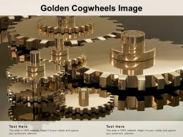 Golden Cogwheels Image