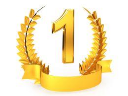 golden_wreath_award_for_number_one_winner_stock_photo_Slide01