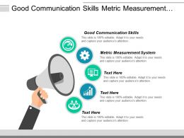 Good Communication Skills Metric Measurement System Qualitative Skills Cpb