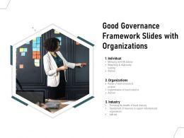 Good Governance Framework Slides With Organizations