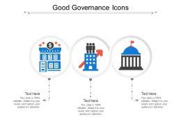 Good Governance Icons
