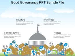 Good Governance Ppt Sample File