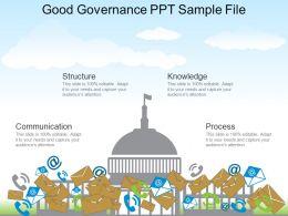 Good Governance Ppt Sample File