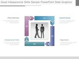 Good Interpersonal Skills Sample Powerpoint Slide Graphics