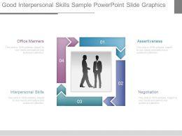 Good Interpersonal Skills Sample Powerpoint Slide Graphics