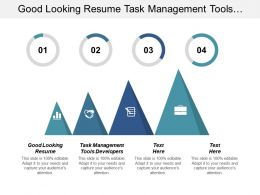 Good Looking Resume Task Management Tools Developers Design Resume Cpb
