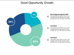 Good Opportunity Growth Ppt Powerpoint Presentation Outline Templates Cpb