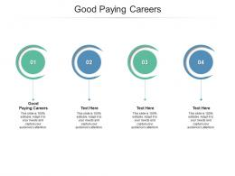 Good Paying Careers Ppt Powerpoint Presentation Icon Objects Cpb