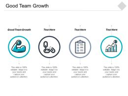 Good Team Growth Ppt Powerpoint Presentation Gallery Guidelines Cpb