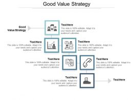 Good Value Strategy Ppt Powerpoint Presentation Icon Outfit Cpb