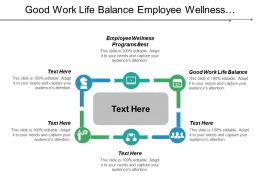 Good Work Life Balance Employee Wellness Programs Best Cpb