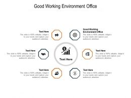 Good Working Environment Office Ppt Powerpoint Presentation File Gallery Cpb