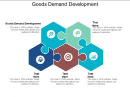 Goods Demand Development Ppt Powerpoint Presentation Outline Topics Cpb