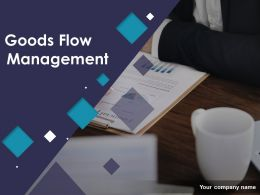 Goods Flow Management Powerpoint Presentation Slides