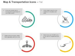 Goods Transportation Aircraft Location Specific Good Delivery Road Ppt Icons Graphics