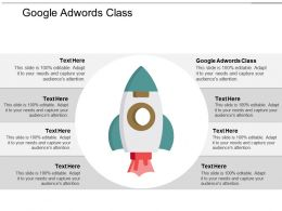 Google Adwords Class Ppt Powerpoint Presentation Pictures Vector Cpb