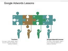 Google Adwords Lessons Ppt Powerpoint Presentation Portfolio Example Cpb