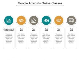 Google Adwords Online Classes Ppt Powerpoint Presentation Portfolio Example File Cpb