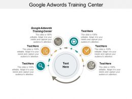 Google Adwords Training Center Ppt Powerpoint Presentation Portfolio Icon Cpb
