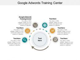 Google Adwords Training Center Ppt Powerpoint Presentation Portfolio Icon Cpb