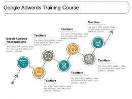 Google Adwords Training Course Ppt Powerpoint Presentation Portfolio Ideas Cpb