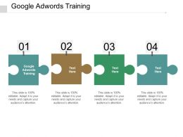 Google Adwords Training Ppt Powerpoint Presentation Portfolio Infographics Cpb