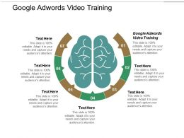 Google Adwords Video Training Ppt Powerpoint Presentation Portfolio Layouts Cpb