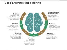 Google Adwords Video Training Ppt Powerpoint Presentation Portfolio Layouts Cpb