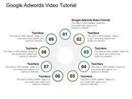 Google Adwords Video Tutorial Ppt Powerpoint Presentation Portfolio Model Cpb