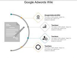 Google Adwords Wiki Ppt Powerpoint Presentation Portfolio Outline Cpb