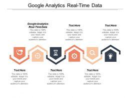 Google Analytics Real Time Data Ppt Powerpoint Presentation Portfolio Template Cpb