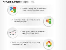 Google Plus Myspace Reddit Picasa Ppt Icons Graphics