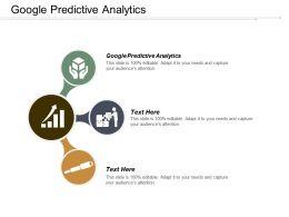 Google Predictive Analytics Ppt Powerpoint Presentation File Template Cpb