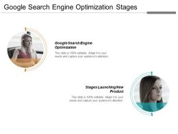 Google Search Engine Optimization Stages Launching New Product Cpb