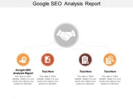 Google Seo Analysis Report Ppt Powerpoint Presentation Gallery Graphics Download Cpb
