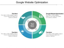 Google Website Optimization Ppt Powerpoint Presentation Gallery Microsoft Cpb