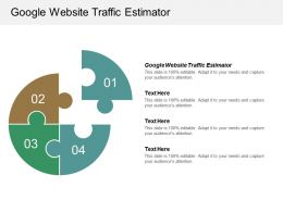 Google Website Traffic Estimator Ppt Powerpoint Presentation Portfolio Slides Cpb