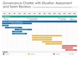 Governance Charter With Situation Assessment And Team Reviews