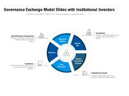 Governance Exchange Model Slides With Institutional Investors