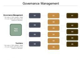 Governance Management Ppt Powerpoint Presentation Icon Portrait Cpb