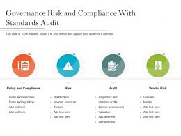 Governance Risk And Compliance With Standards Audit