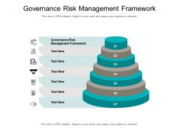 Governance Risk Management Framework Ppt Powerpoint Presentation Summary Pictures Cpb